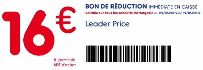 Bon De Reduction Leader Price A Imprimer 16 Des 60 D Achat