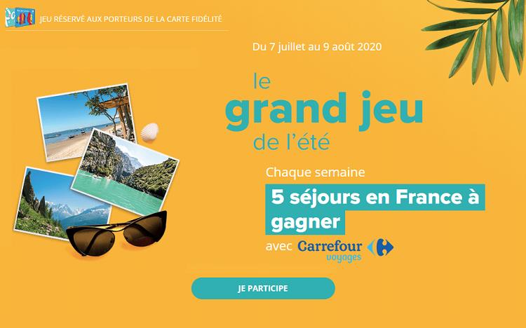 Carrefour Fr Animations Magasins Votre Code Pour Gagner Un Sejour De Reve