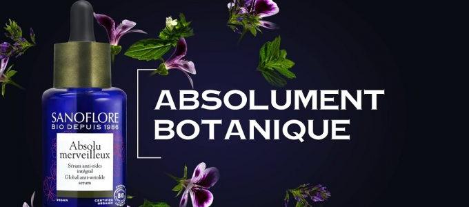 Échantillon Gratuit sérum anti-rides Sanoflore