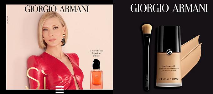 Échantillons Gratuits SI Eau de Parfum + fond de teint Luminous Silk de Giorgio Armani