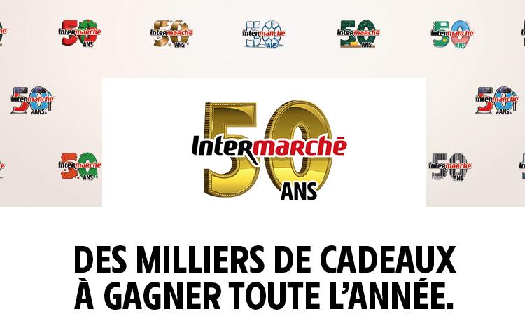 Carte Intermarche Belgique.50 Ans Intermarche Des Milliers De Cadeaux A Gagner Toute L Annee