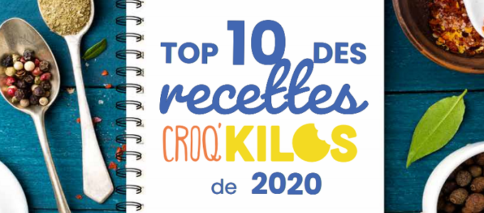 Un livret 10 Meilleures Recettes Croq'kilos offert