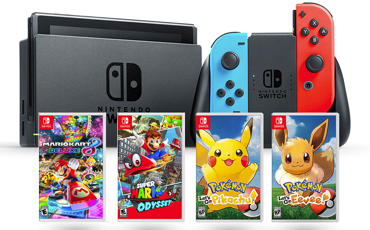Bon plan: Nintendo Switch Black Friday : les plus belles promos !