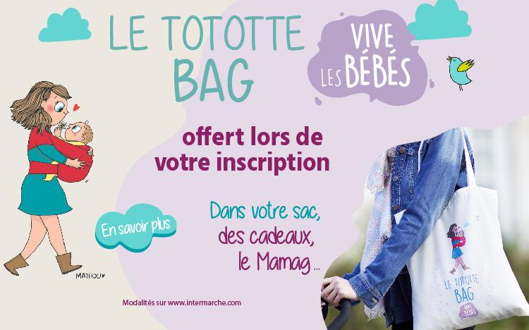 Carte Intermarche Belgique.Intermarche 49700 Tototte Bag Gratuits Echantillons Cadeaux Bebe