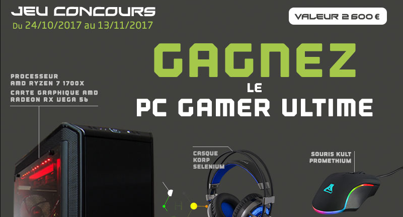 CONCOURS PC GAMER