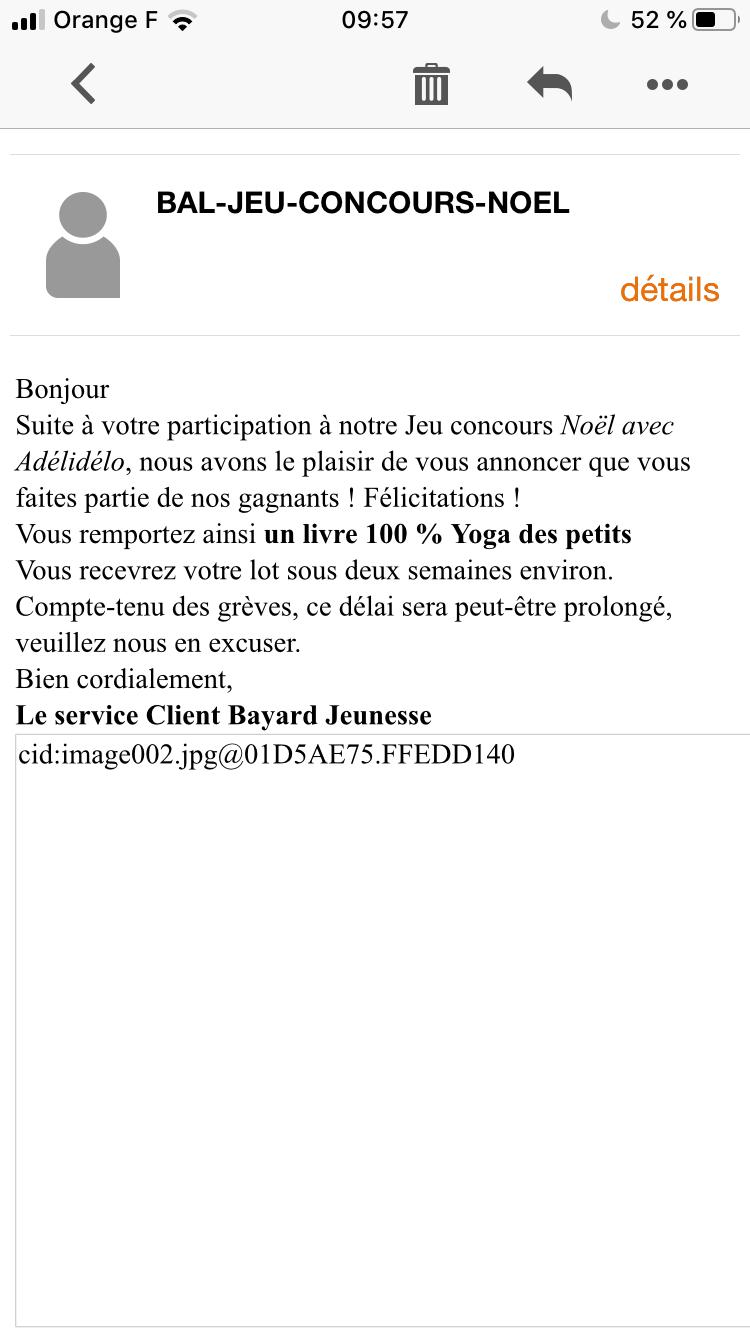 Temoignages De Gagnants Aux Jeux Concours Page 137